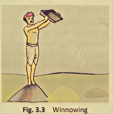 Separation of Substances: Winnowing