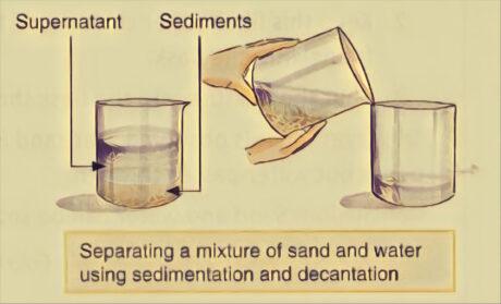 Sedimentation and Decantation