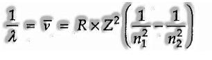 Rydberg formula