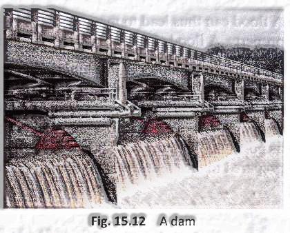 Building dam